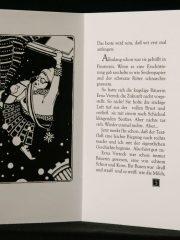 Märchen und Geschichten - Bescherung in Schwarzweiss-geöffnet