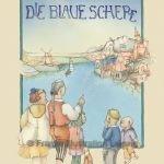 Gebrauchsgraphik - Einbandzeichnung 'Die blaue Schere'