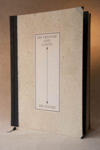 Gebrauchsgraphik - Gästebuch Papierbezug