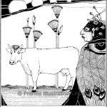 Zeichnungen und Illustrationen Jens Thomas Franke - Io und Argus