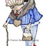 Zeichnungen und Illustrationen Jens Thomas Franke - Die Knusperhexe