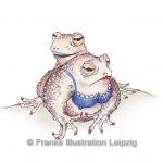 Zeichnungen und Illustrationen Jens Thomas Franke - Die Kröten