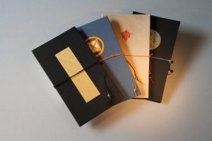 Buchbinderarbeiten - Leporellobücher