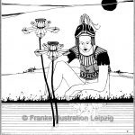 Zeichnungen und Illustrationen Jens Thomas Franke - Narkissos