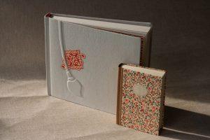 Gebrauchsgraphik - Notizbücher - Leder- und Papierbezug