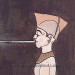Zeichnungen und Illustrationen Jens Thomas Franke - Raucher