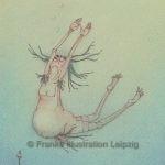 Zeichnungen und Illustrationen Jens Thomas Franke - Schwimmer