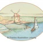 Zeichnungen und Illustrationen Jens Thomas Franke - Segelschiff