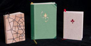 Gebrauchsgraphik - Taschenkalender Leder-, Papier- und Leinenbezug