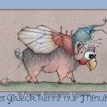 Zeichnungen und Illustrationen Jens Thomas Franke - Wunderschwein