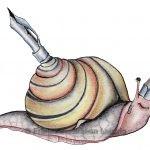 Zeichnungen und Illustrationen Jens Thomas Franke - Zeichenschnecke