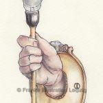 Zeichnungen und Illustrationen Jens Thomas Franke - Armleuchter