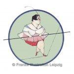 Zeichnungen und Illustrationen Jens Thomas Franke - Die Seiltänzerin