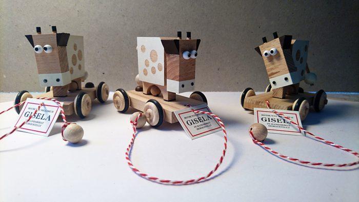 Aktuelles - Gisela - Rotbunte Milchkuh aus Holz